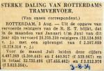 19340803 Sterke daling Rotterdams tramvervoer juli