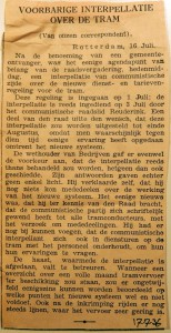 19360717 Voorbarige interpellatie over de tram