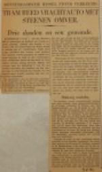 19400209 Rotterdams wissel stond verkeerd, Verzameling Hans Kaper