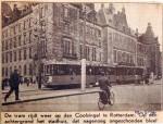 19400528 De tram rijdt weer op den Coolsingel