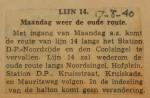19400817 lijn 14 weer op oude route, verzameling Hans Kaper
