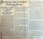 19410118 Conducteur voor de centrale Raad van beroep