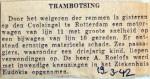 19420319 Trambotsing op de Coolsingel