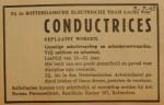 19430703-advertentie-conductrices, verzameling Hans Kaper