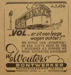 19430904-Advertentie-Wouters, verzameling Hans Kaper