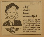 19431115-Advertentie-Zij-staat-haar-mannetje, verzameling Hans Kaper