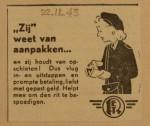 19431122-Advertentie-Zij-weet-van-aanpakken, verzameling Hans Kaper