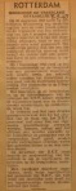 19450908-Meerijden-op-treeplank-gevaarlijk, Verzameling Hans Kaper