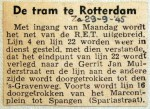 19450929 Uitbreiding RET-net Rotterdam