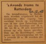 19451220-De-tram-s-avonds, Verzameling Hans Kaper