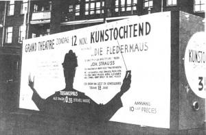12-11-1939, reclame voor het Grand Theatre, remise Delfshaven