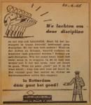 19460420-Advertentie-discipline, Verzameling Hans Kaper