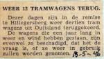 19460513 Weer 13 tramwagens terug
