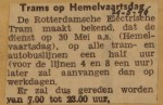 19460529-Trams-op-Hemelvaartsdag, Verzameling Hans Kaper