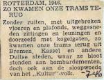 19460701 Zo kwamen onze trams terug
