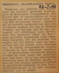 19460723-Weer-geroofde-trams-terug, Verzameling Hans Kaper