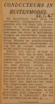 19470122-Conducteurs-in-buitenmodel, Verzameling Hans Kaper