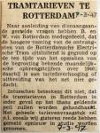 19470307 Tramtarieven Rotterdam