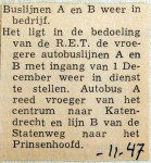 19471130 Buslijnen A en B weer in bedrijf