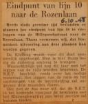 19481006-Eindpunt-lijn-10-naar-Rozenlaan, Verzameling Hans Kaper