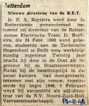 19481118 Nieuwe RET directeur