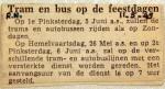 19490511 Tram en nus op de feestdagen