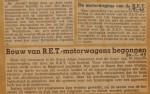 19490730-Bouw-motorwagens-begonnen, Verzameling Hans Kaper