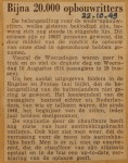 19491022-Bijna-20000-opbouwritters, Verzameling Hans Kaper