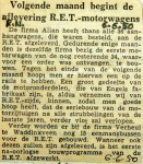 19500606 Aflevering motorwagens begint