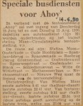 19500614-Speciale-busdiensten-Ahoy, Verzameling Hans Kaper
