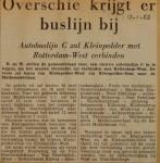 19520117-Overschie-krijgt-er-een-buslijn-bij, Verzameling Hans Kaper