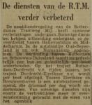 19530216-RTM-diensten-verder-verbeter, Verzameling Hans Kaper