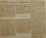 19531003-De-RET-en-de-spoorwegplannen, Verzameling Hans Kaper