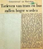 19540604 Bus en tramtarieven worden hoger