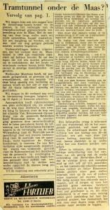 19540821 Tramtunnel onder de Maas