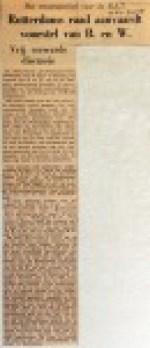19550409 Rotterdamse raad aanvaardt materieelvoorstel (NRC)