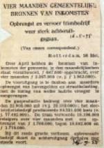 19550516 Opbrengst trambedrijf sterk achteruit