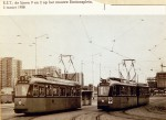 19580302 De lijnen 2 en 9 op het nieuwe Stationsplein