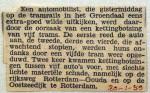 19590130 Kettingbotsing 5 trams Groenendaal