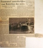 19601117 Tramtunnel aantrekkelijker dan metro