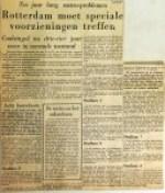 19601220 Rotterdam moet speciale voorzieningen treffen