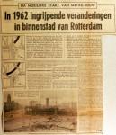 19611111 In 1962 ingrijpende veranderingen