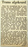 19621207 Trams afgekeurd