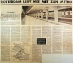 19630105 Rotterdam leeft mee met zijn metro