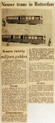 19630528 Nieuwe trams in Rotterdam