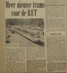 19640910-Meer-nieuwe-trams-voor-RET-Havenloods