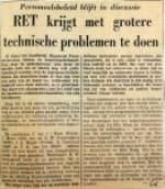 19641011 Grote technische problemen voor RET