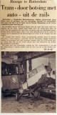 19650727 Tram door botsing uit de rails