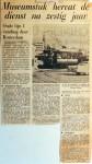 19650917 Museumstuk hervat dienst na 60 jaar (AD)