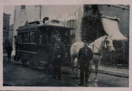 Paardentram, Rotterdamse Rijweg ca. 1920